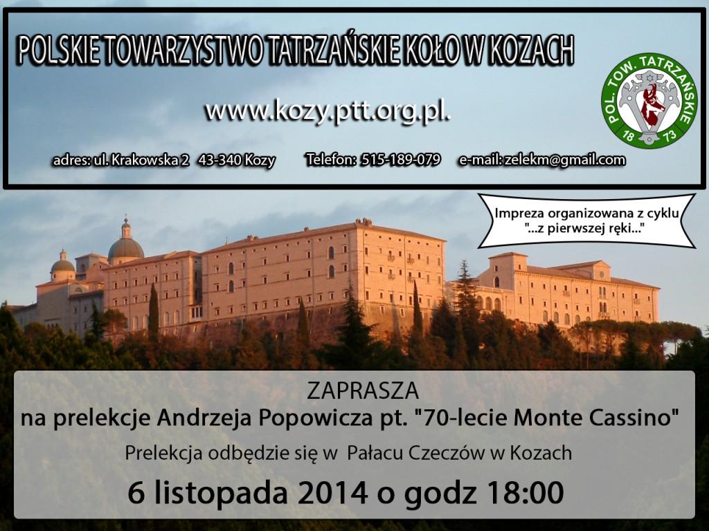 Monte_Cassino PLAKAT