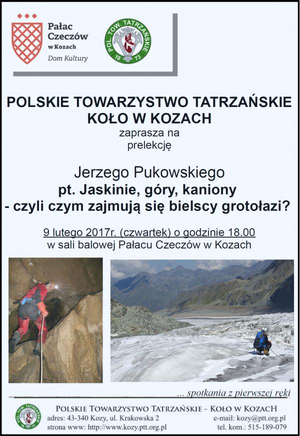 Plakat na 9 lutego 2017 Pukowski